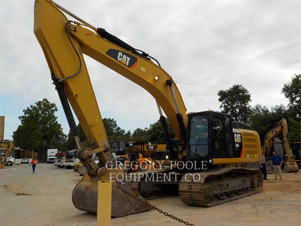 Caterpillar 336EL H, Crawler Excavators, Construction