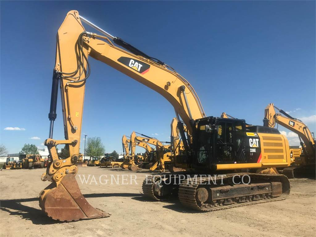 Caterpillar 336EL HMR, Crawler Excavators, Construction
