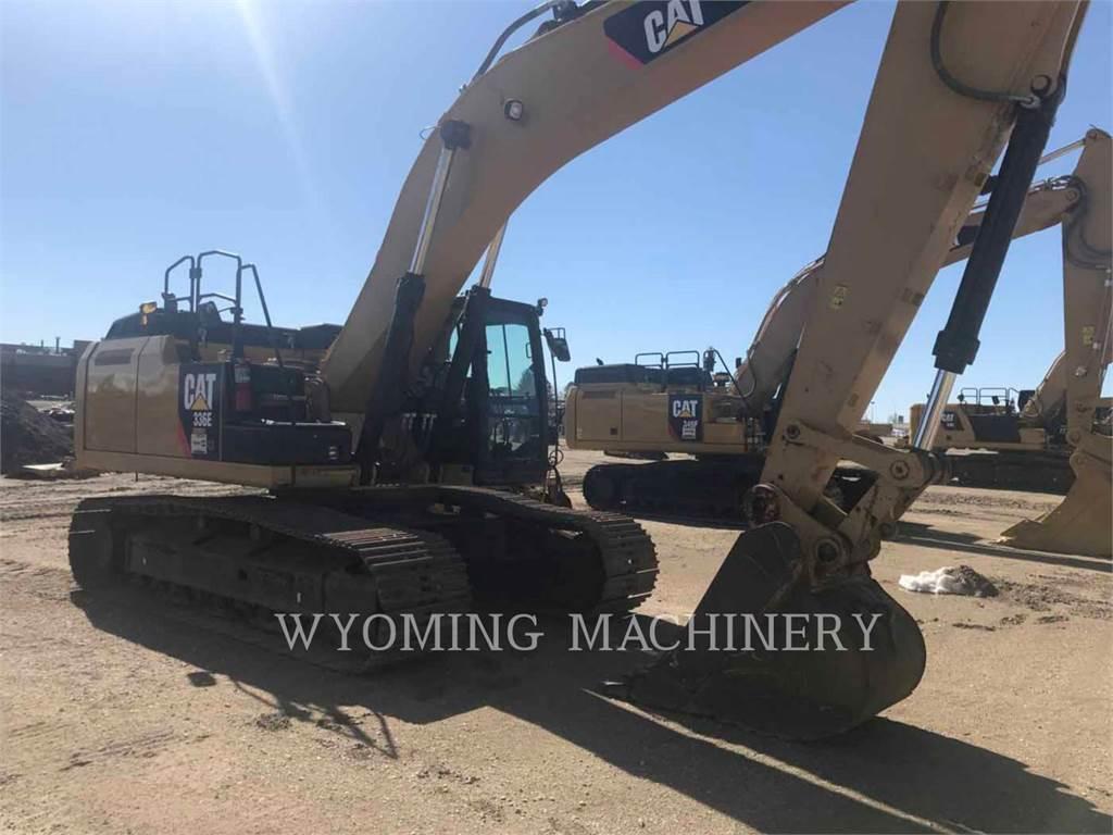 Caterpillar 336EL HYB, Pelle sur chenilles, Équipement De Construction