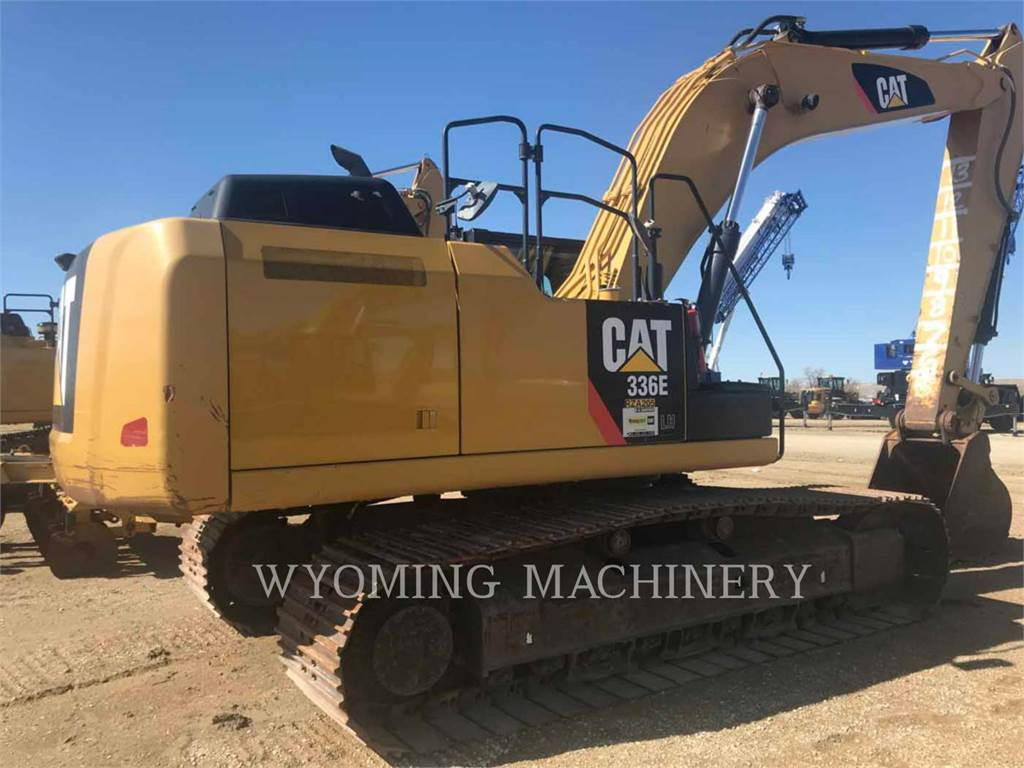Caterpillar 336EL HYB, Crawler Excavators, Construction