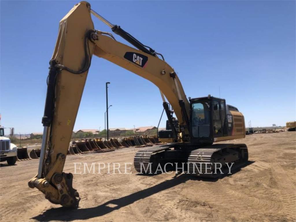 Caterpillar 336EL HYB, Excavatoare pe senile, Constructii