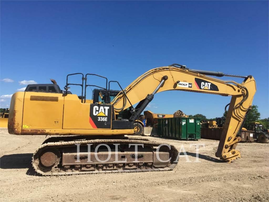 Caterpillar 336EL TC, Pelle sur chenilles, Équipement De Construction