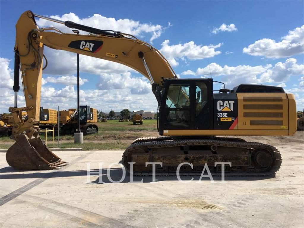 Caterpillar 336EL TC, Escavatori cingolati, Attrezzature Da Costruzione