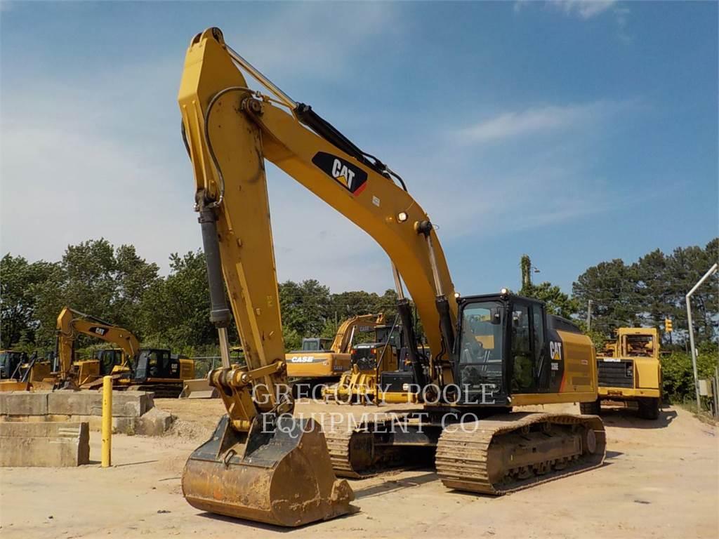 Caterpillar 336ELH, Pelle sur chenilles, Équipement De Construction