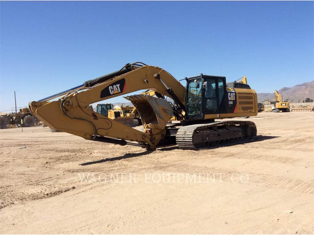 Caterpillar 336ELH, Excavadoras de cadenas, Construcción