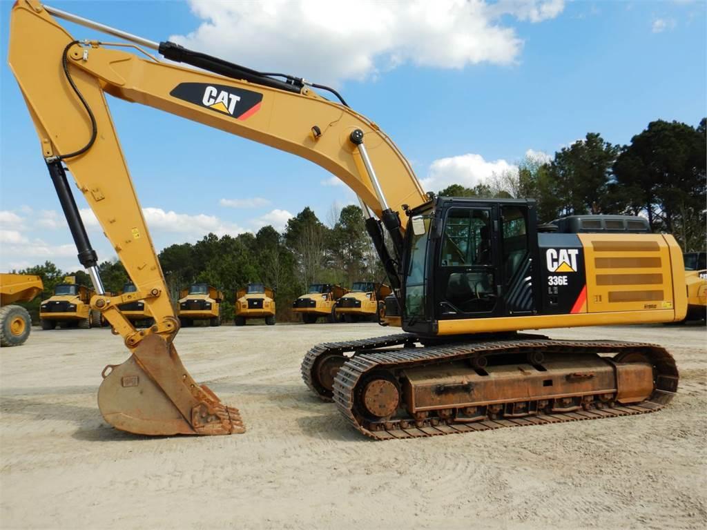 Caterpillar 336ELH, Crawler Excavators, Construction