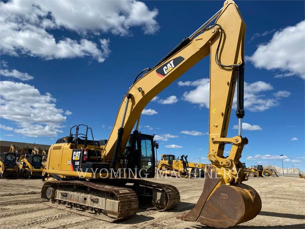 Caterpillar 336ELH, Escavadoras de rastos, Equipamentos Construção