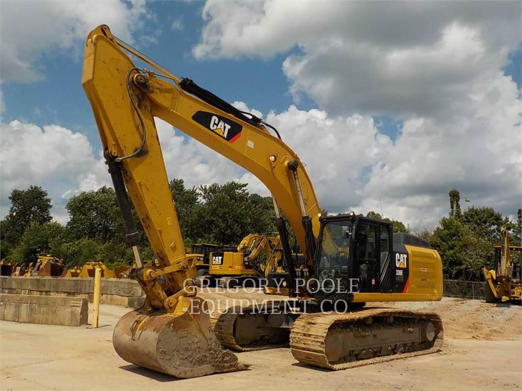Caterpillar 336ELH, Koparki gąsienicowe, Sprzęt budowlany