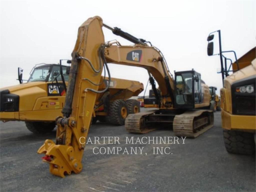 Caterpillar 336ELH、クローラー式油圧ショベル(パワーショベル・ユンボ)、建設