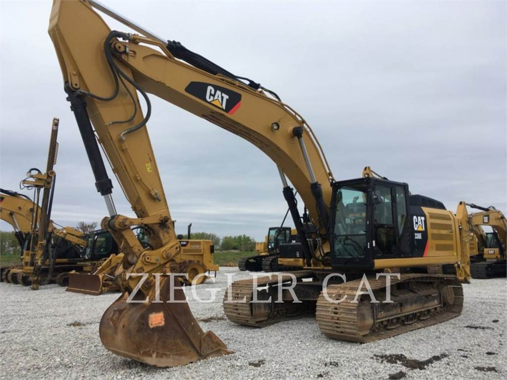 Caterpillar 336ELH2, Crawler Excavators, Construction