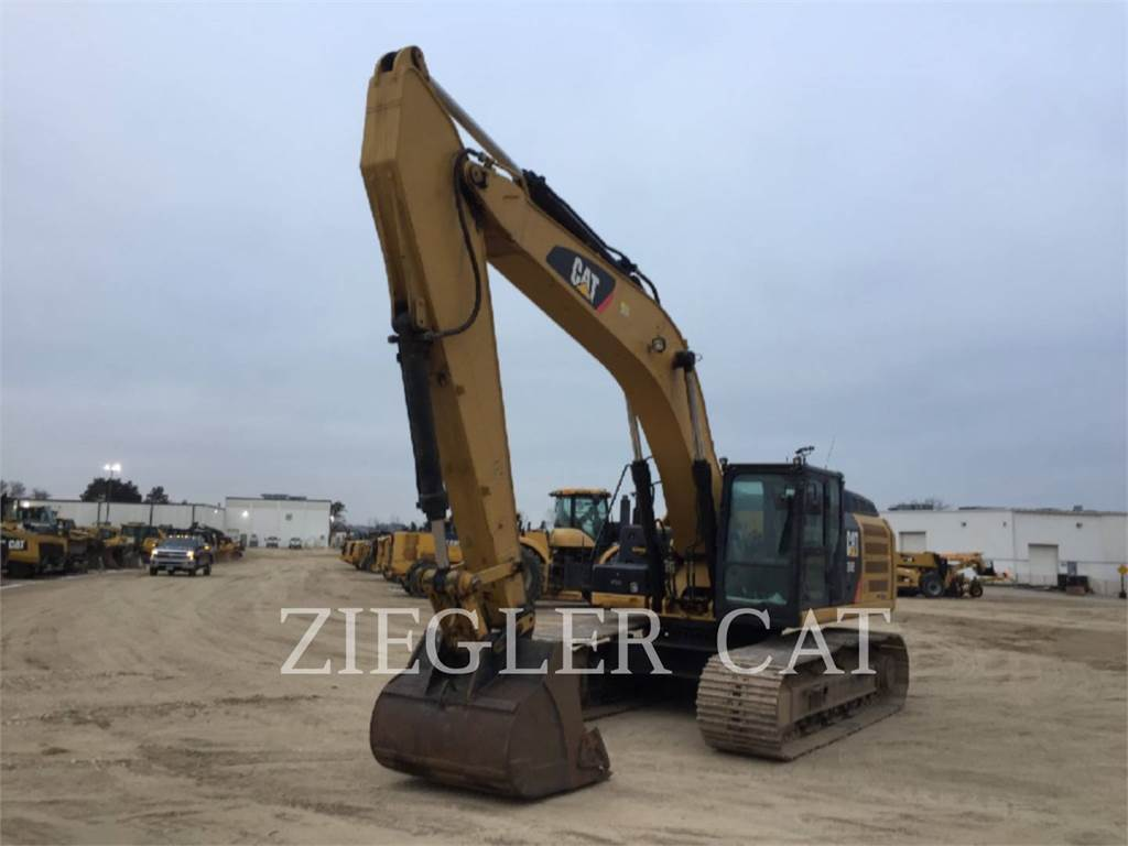 Caterpillar 336ELHB, Crawler Excavators, Construction