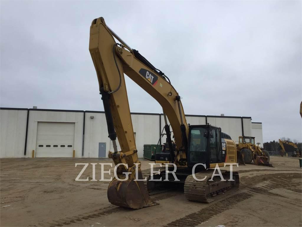 Caterpillar 336ELHB, Crawler Excavators, Construction
