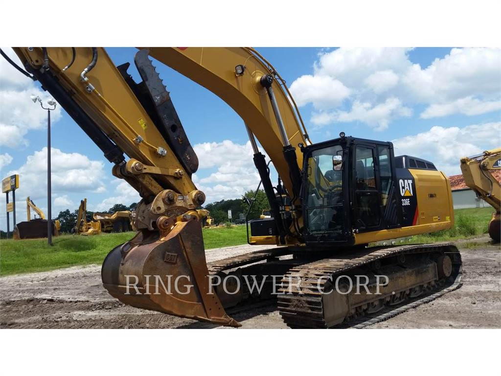 Caterpillar 336ELHYDTH, Crawler Excavators, Construction