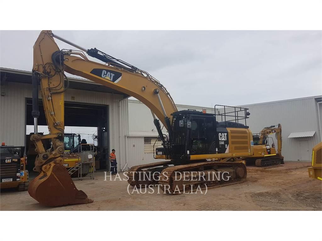 Caterpillar 336ELN, Escavatori cingolati, Attrezzature Da Costruzione