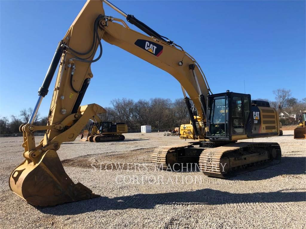 Caterpillar 336F, Escavadoras de rastos, Equipamentos Construção