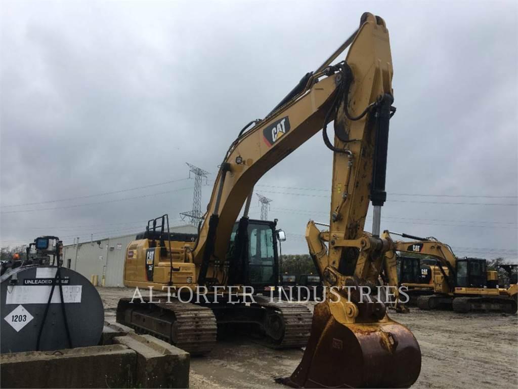 Caterpillar 336F, Crawler Excavators, Construction
