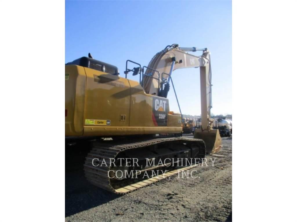 Caterpillar 336F 12, Excavatoare pe senile, Constructii