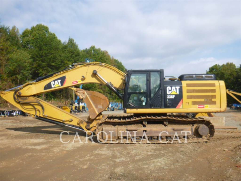 Caterpillar 336F, Crawler Excavators, Construction