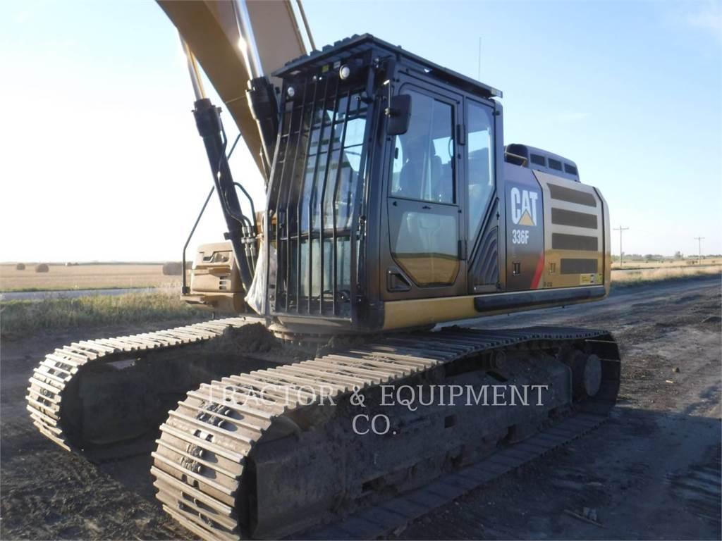 Caterpillar 336F L, Excavadoras de cadenas, Construcción