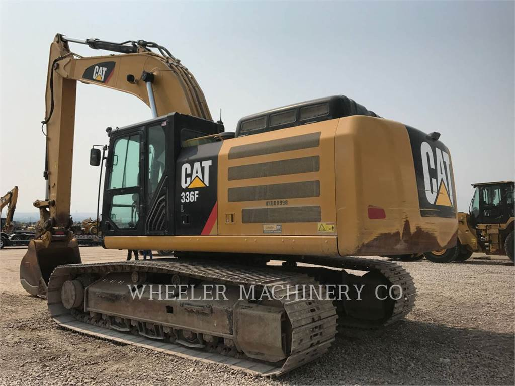 Caterpillar 336F L, Excavatoare pe senile, Constructii