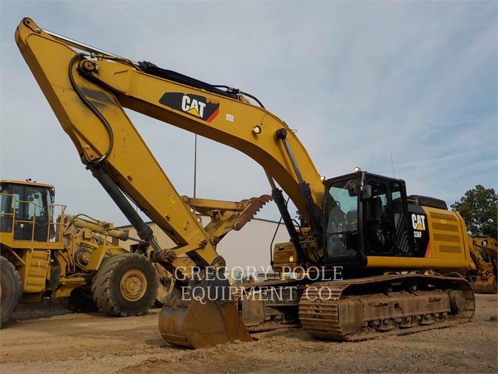 Caterpillar 336F L, Pelle sur chenilles, Équipement De Construction