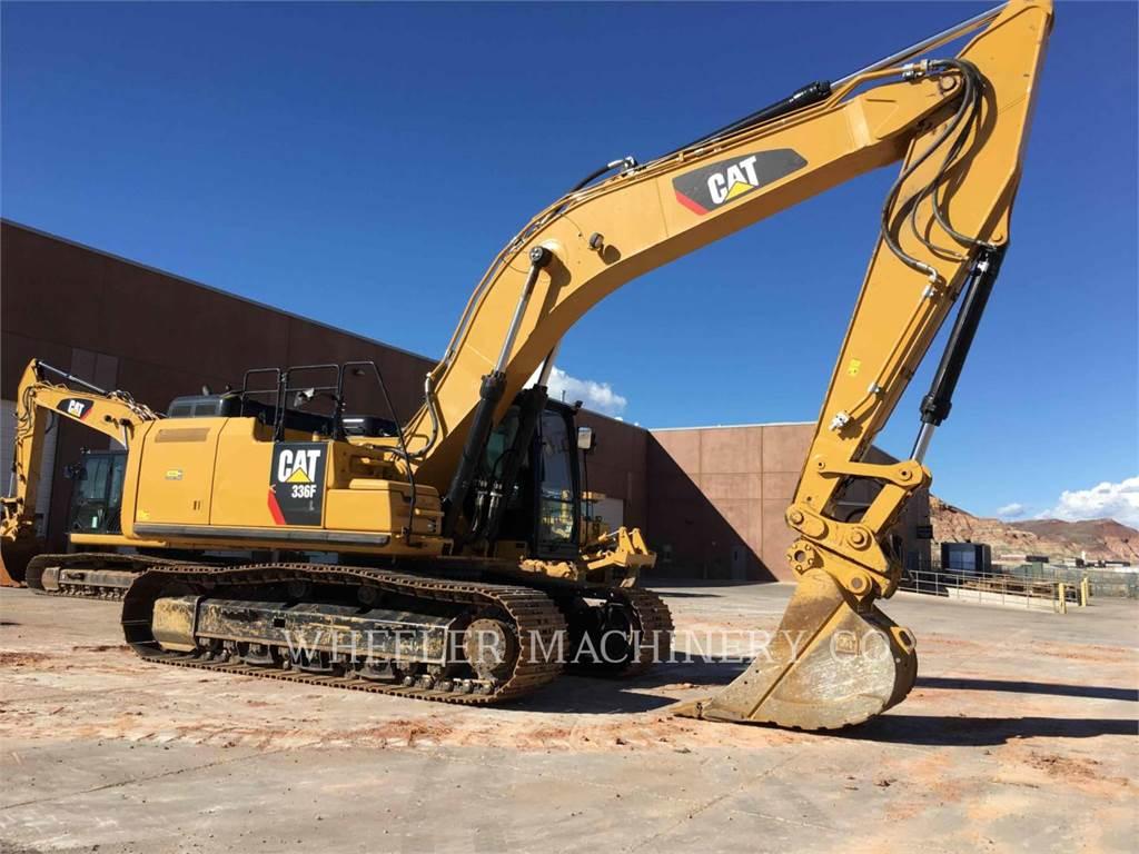 Caterpillar 336F L CF、クローラー式油圧ショベル(パワーショベル・ユンボ)、建設
