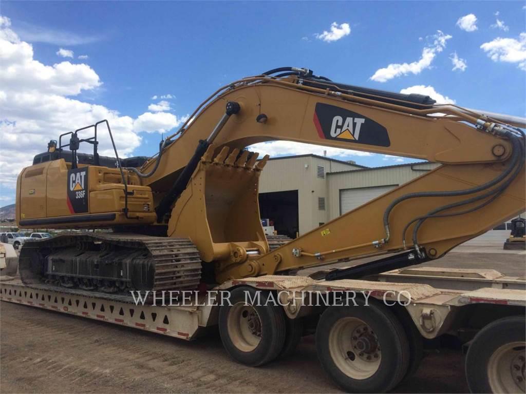 Caterpillar 336F L CF, Raupenbagger, Bau-Und Bergbauausrüstung