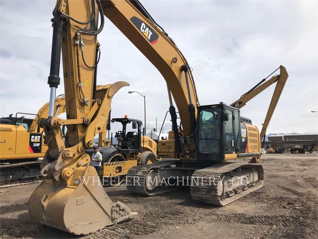 Caterpillar 336F L THM, Crawler Excavators, Construction