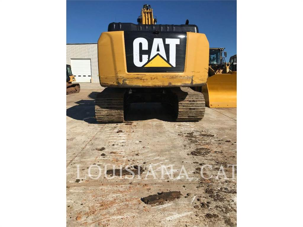 Caterpillar 336FL, Crawler Excavators, Construction
