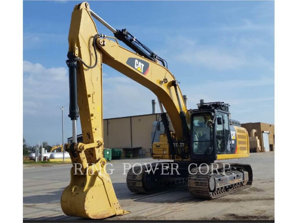 Caterpillar 336FL、クローラー式油圧ショベル(パワーショベル・ユンボ)、建設