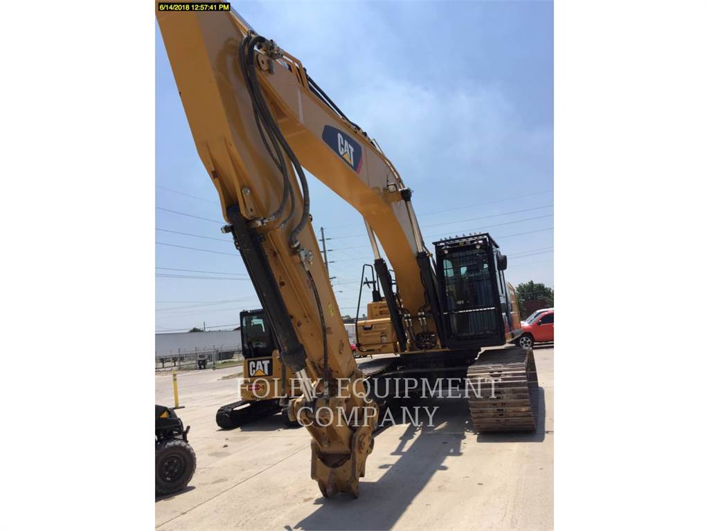 Caterpillar 336FL, Crawler Excavators, Construction