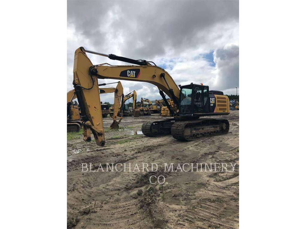 Caterpillar 336FL, Pelle sur chenilles, Équipement De Construction