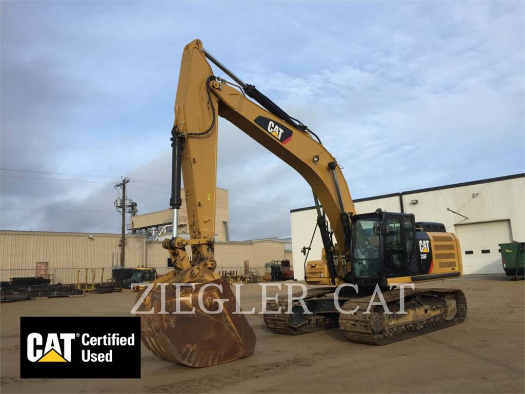 Caterpillar 336FL - Crawler Excavators - Construction