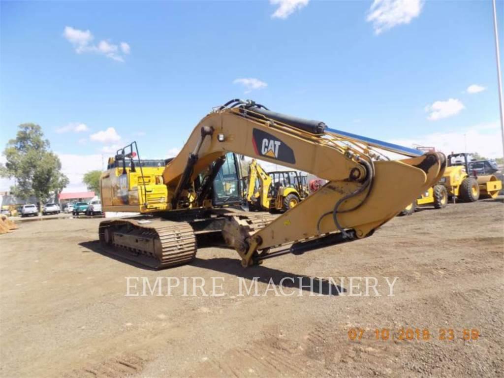 Caterpillar 336FL, Excavadoras de cadenas, Construcción