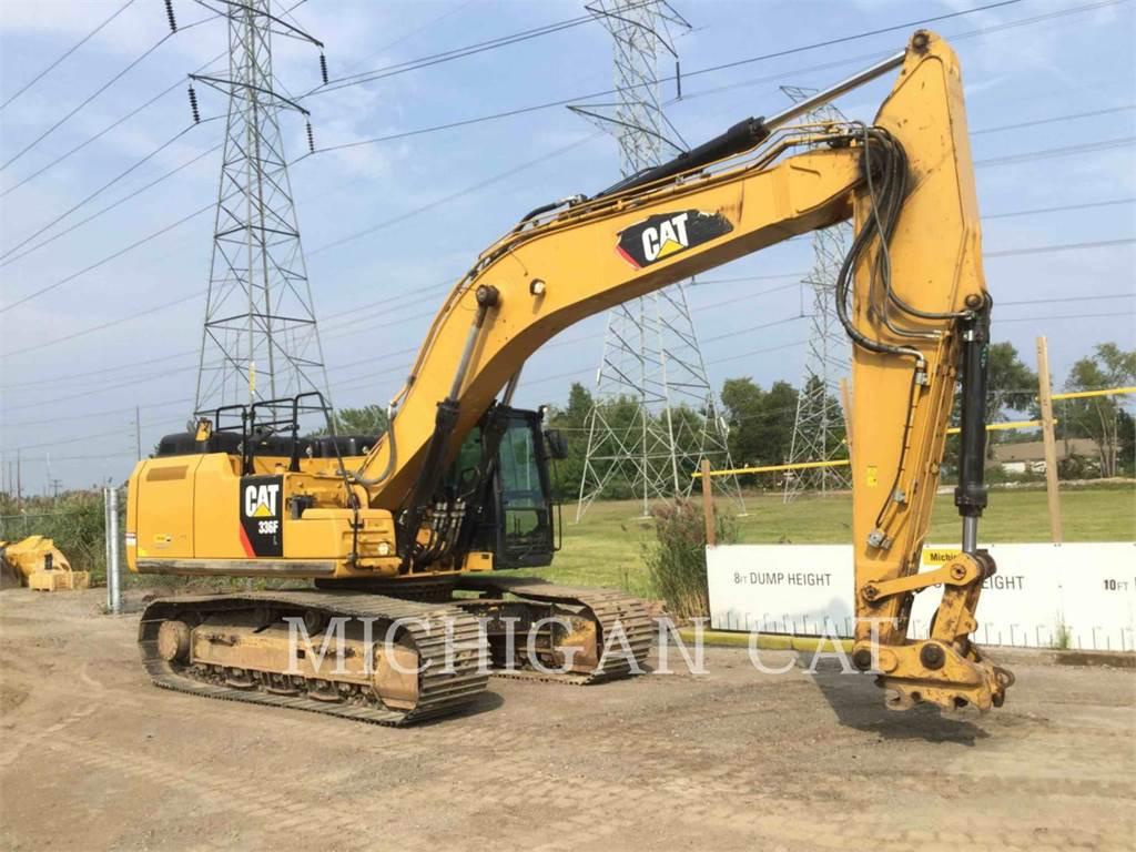 Caterpillar 336FL PMQ, Escavadoras de rastos, Equipamentos Construção