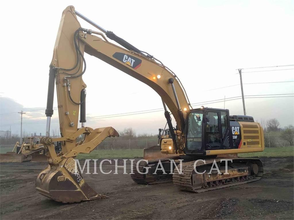 Caterpillar 336FL PT, Crawler Excavators, Construction