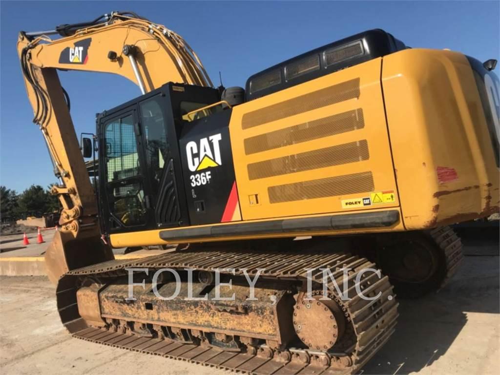 Caterpillar 336FL TC, Koparki gąsienicowe, Sprzęt budowlany
