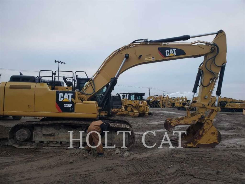 Caterpillar 336FL TC, Escavadoras de rastos, Equipamentos Construção