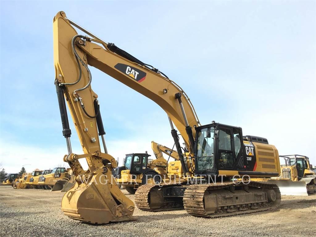Caterpillar 336FL THB, Excavadoras de cadenas, Construcción