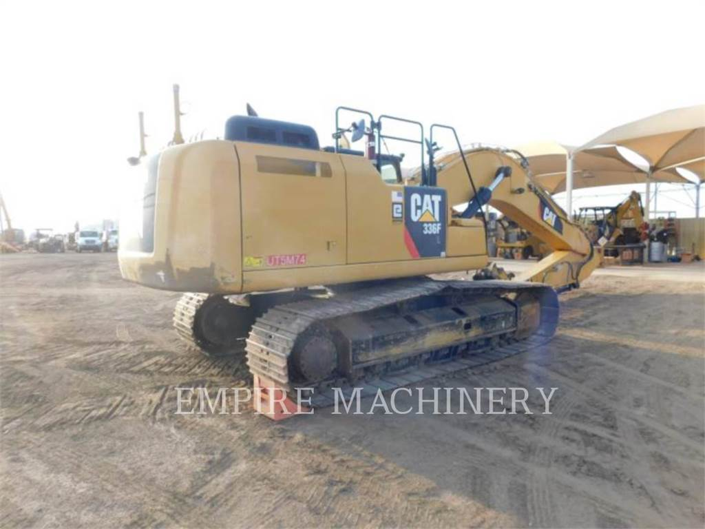 Caterpillar 336FL TR, Escavadoras de rastos, Equipamentos Construção
