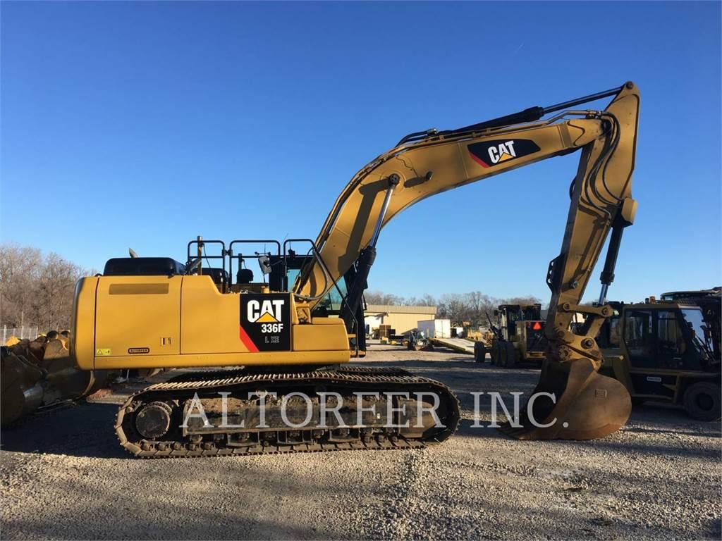 Caterpillar 336FL XE3D, Raupenbagger, Bau-Und Bergbauausrüstung