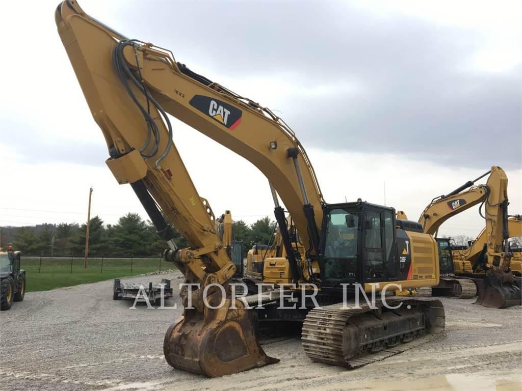 Caterpillar 336FL XE3D, Crawler Excavators, Construction