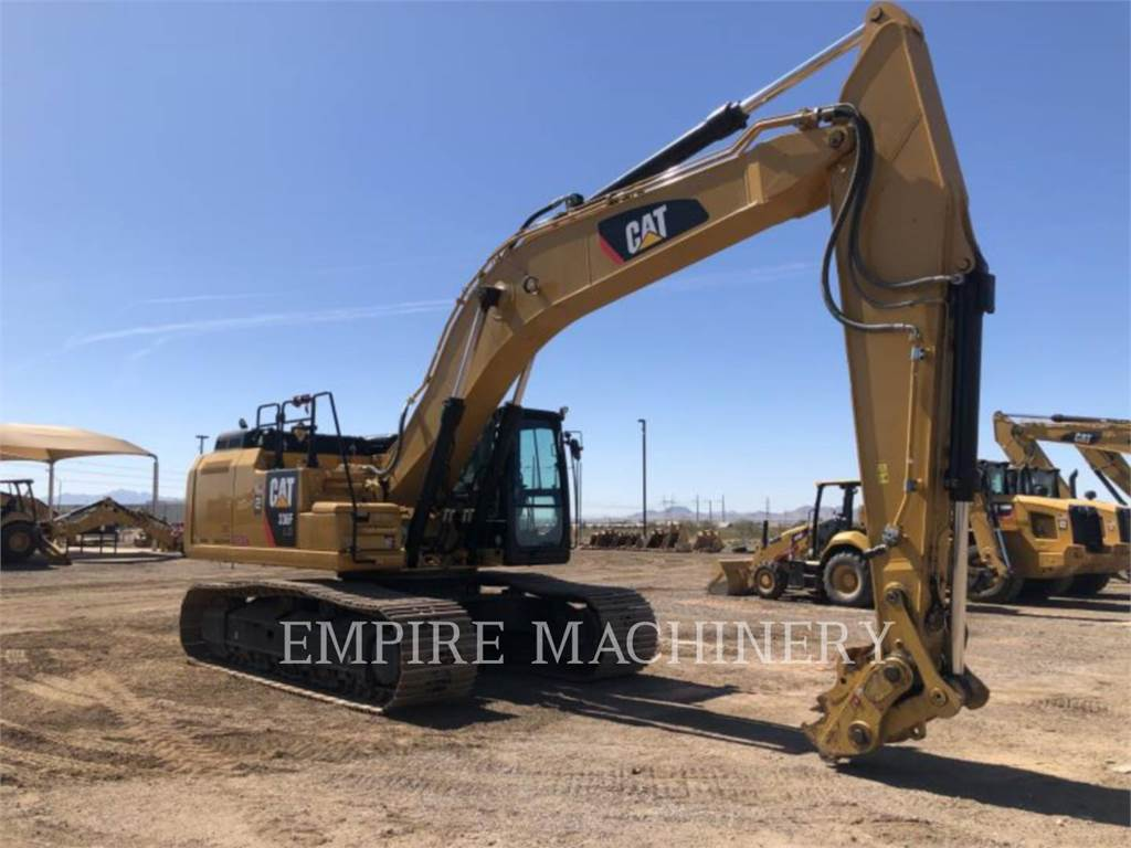 Caterpillar 336FLXE, Crawler Excavators, Construction