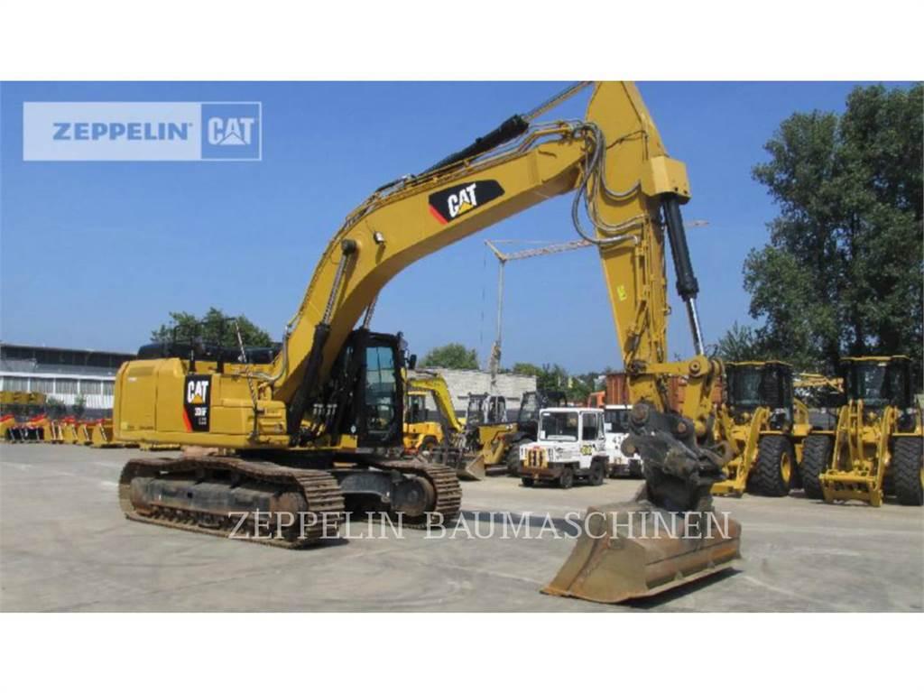 Caterpillar 336FLXE, Rupsgraafmachines, Bouw