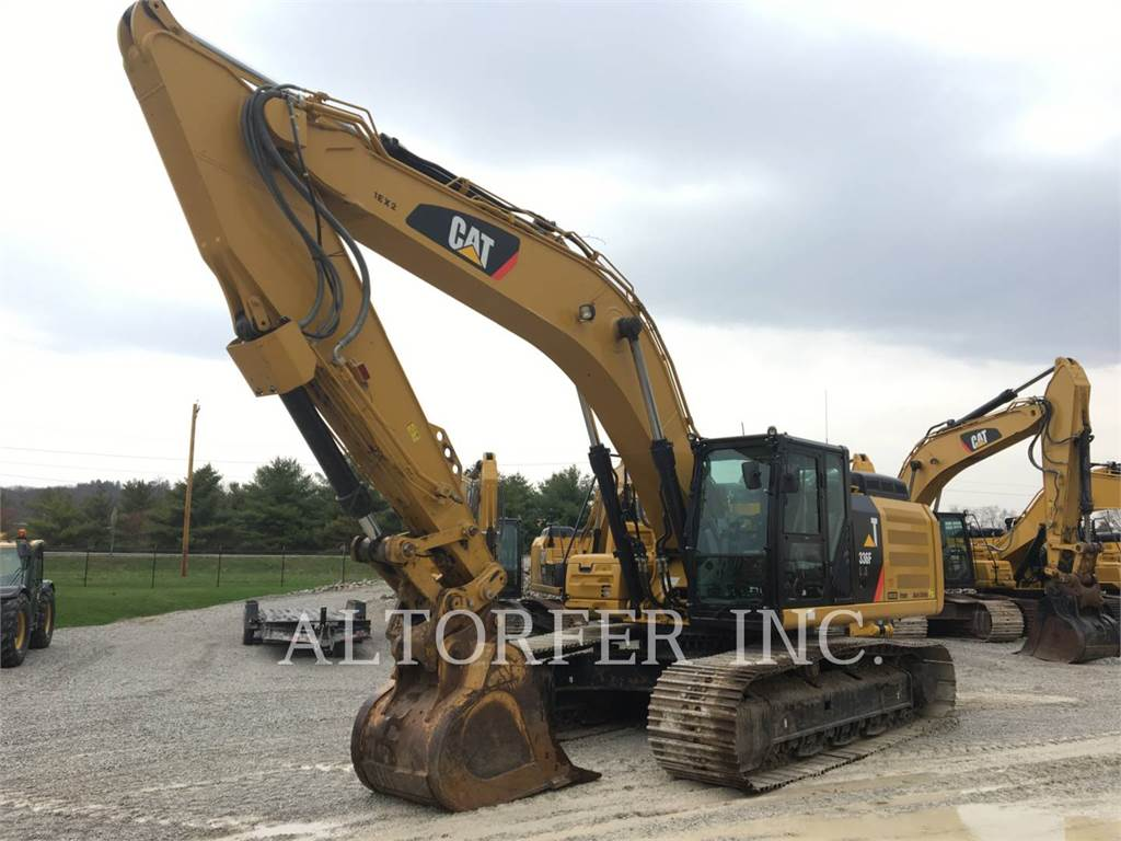 Caterpillar 336FLXE, Crawler Excavators, Construction
