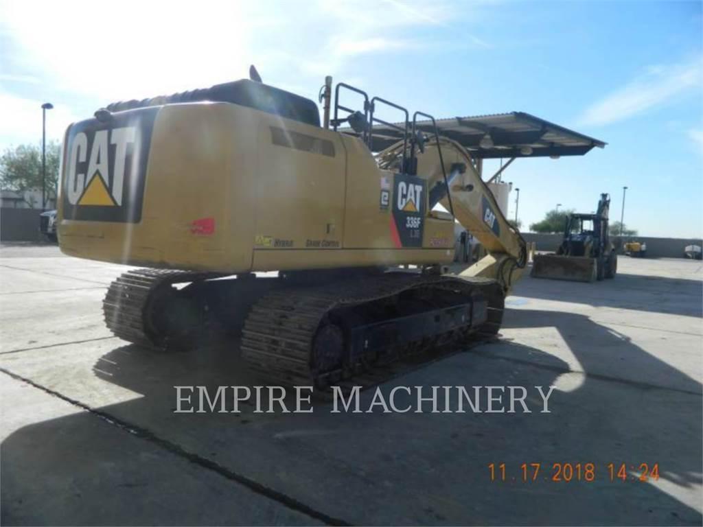 Caterpillar 336FLXE、クローラー式油圧ショベル(パワーショベル・ユンボ)、建設