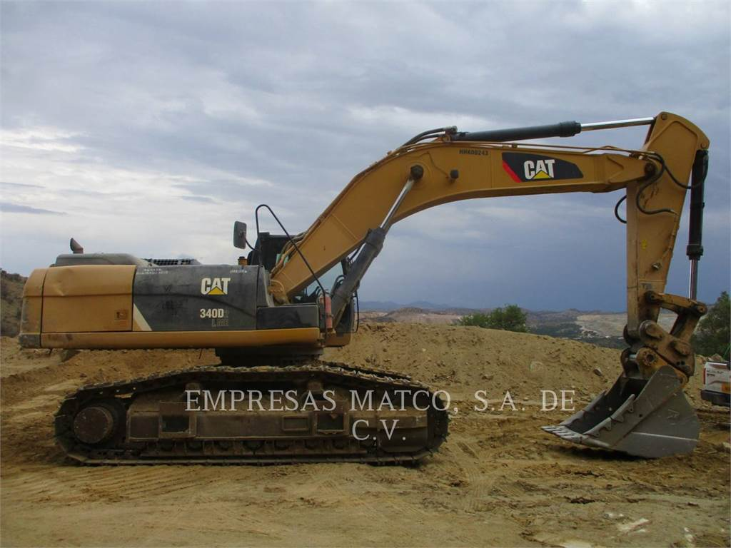 Caterpillar 340 D2 L, Crawler Excavators, Construction