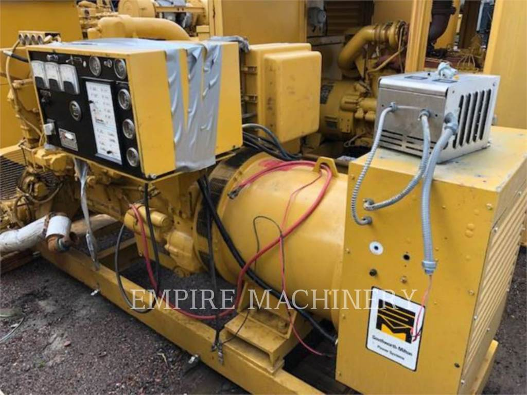 Caterpillar 3406, Stationary Generator Sets, Construction