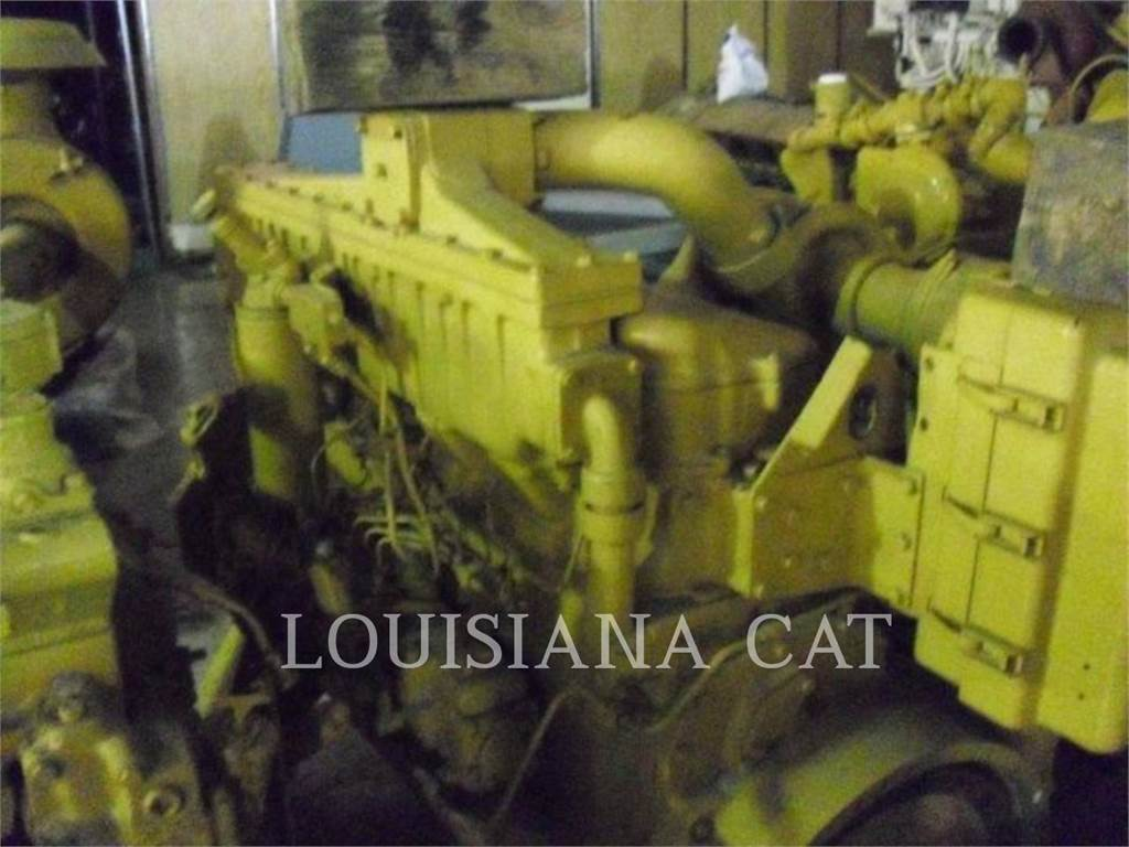 Caterpillar 3406, Industrial engines, Construction
