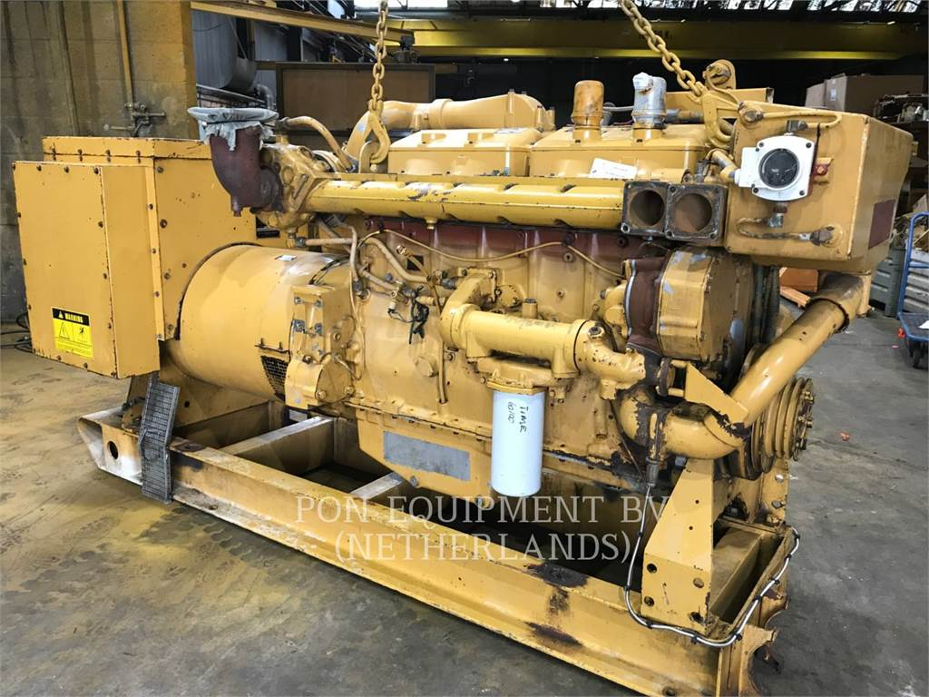 Caterpillar 3406 DIT, Marine Propulsion / Auxiliary Engines, Construction